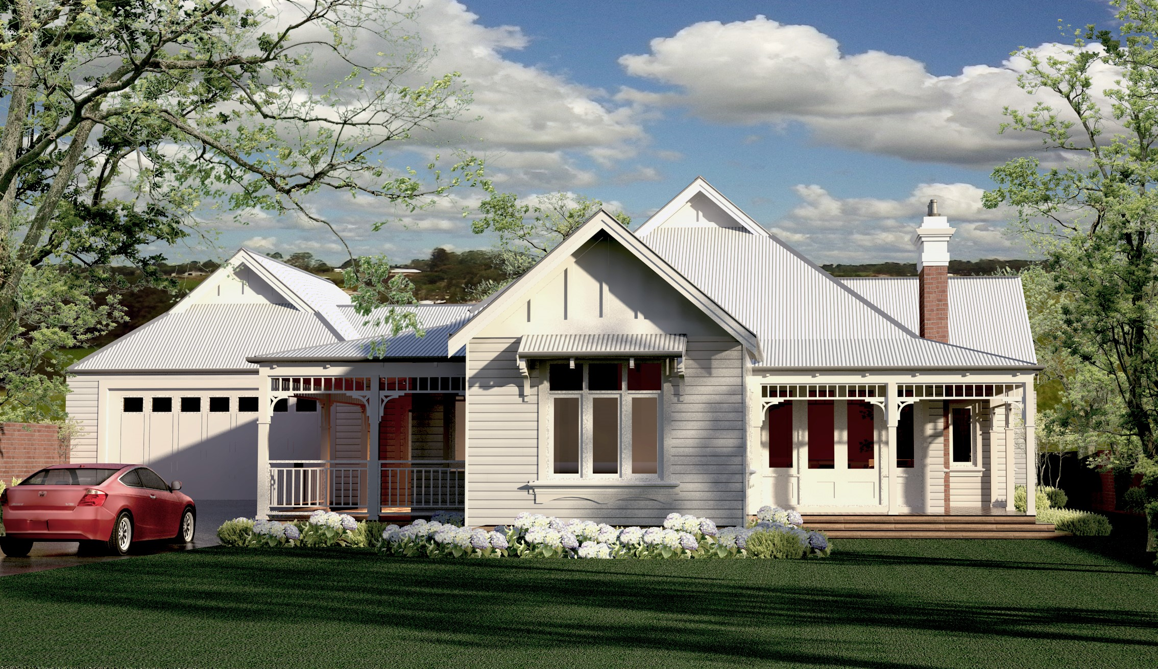 Maughan Federation Style Home