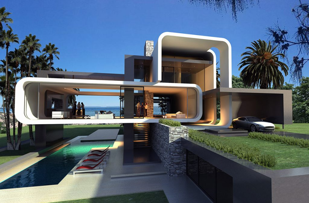 Another example of a Maughan Luxury Home Design