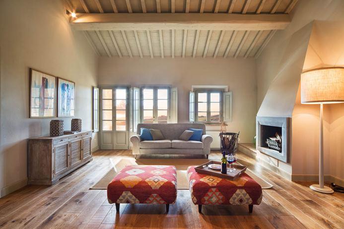 Tuscan home builder interior design